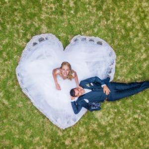 Imag'in drone mets son talent au service de mariage