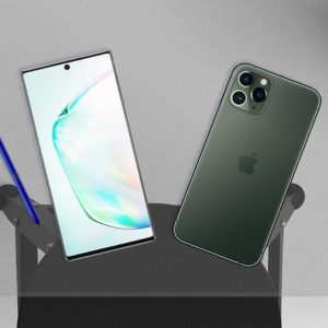 Apple 11 iPhone Pro Max vs Samsung Galaxy Note 10+