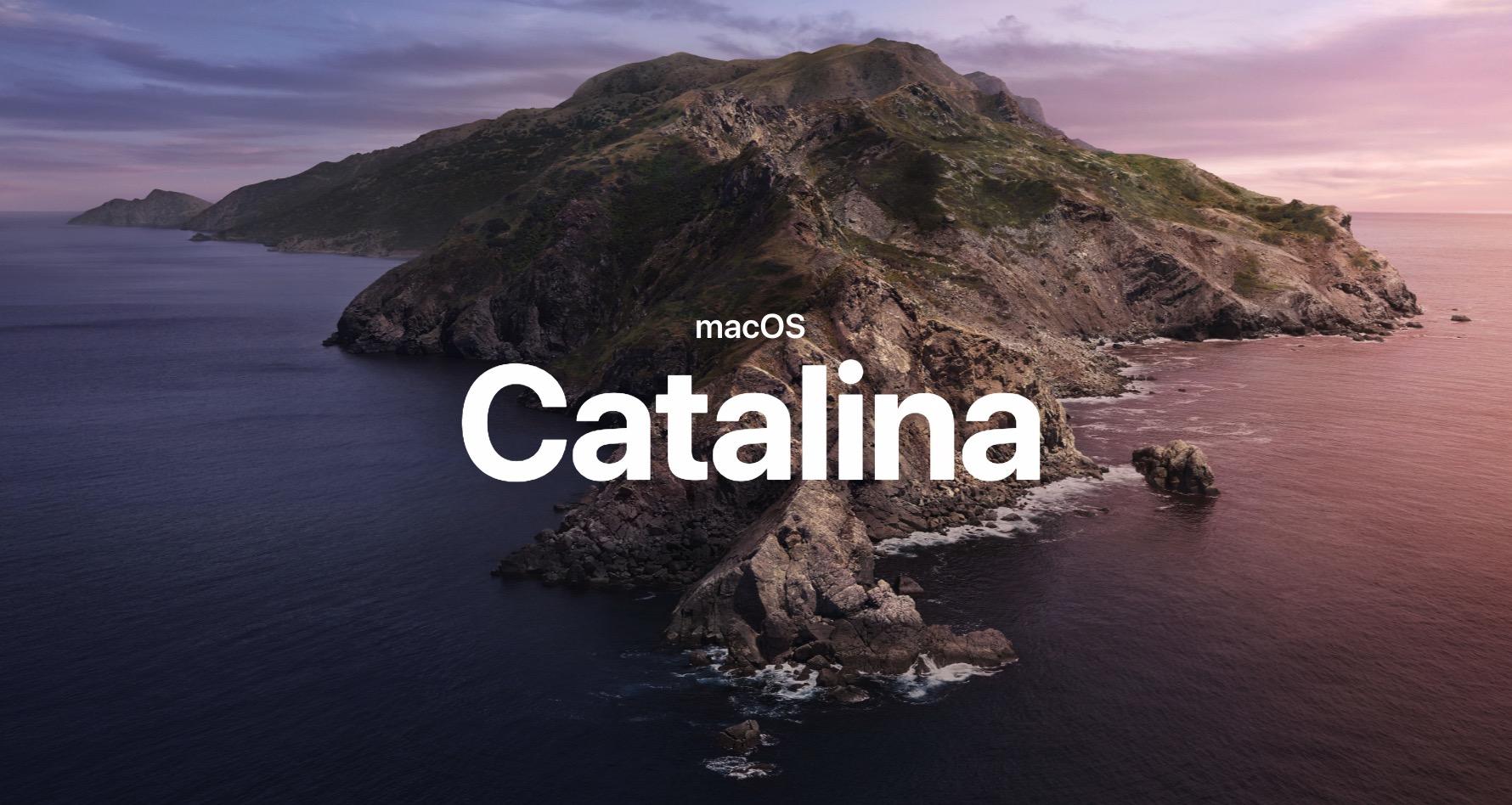 installer macOS Catalina