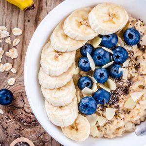 Petit-déjeuner protéiné antiacidité