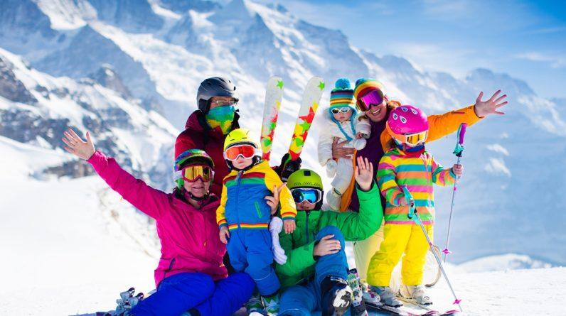 Vacances en famille au ski