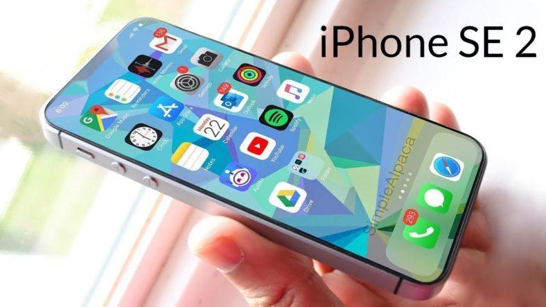 caractéristiques de l'iPhone SE2