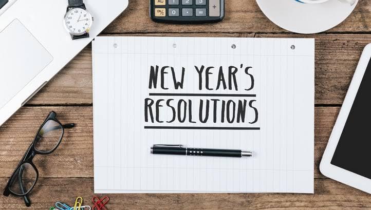 résolution technologique du Nouvel An 2020