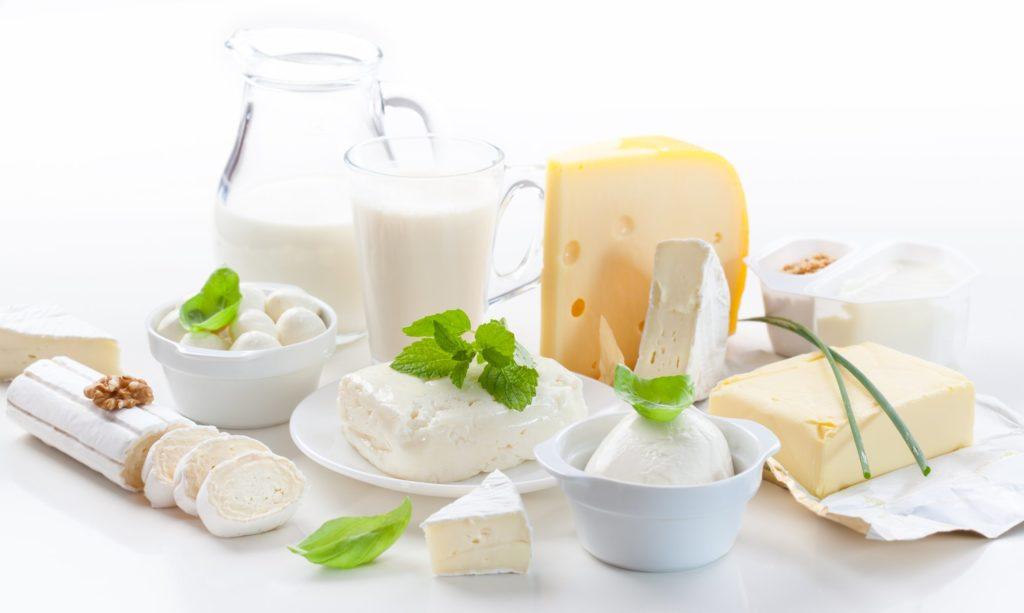 Produits laitiers : aliments pour des yeux en santé