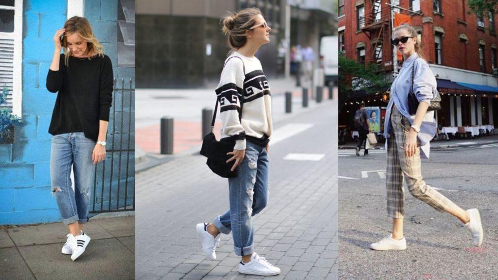 les jeans ou les pantalons confortables sont important dans la garde robe du jeune maman