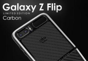 samsung galaxy z flip limited edition carbon