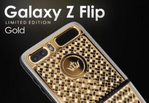 samsung galaxy z flip limited edition gold