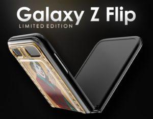 Samsung Galaxy Z Flip edition Caviar