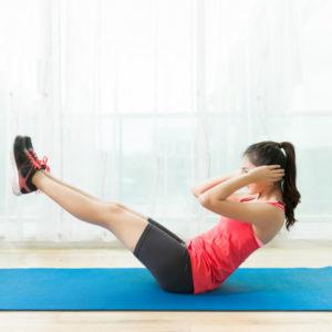 Exercices de gymnastique à faire à la maison sans outils