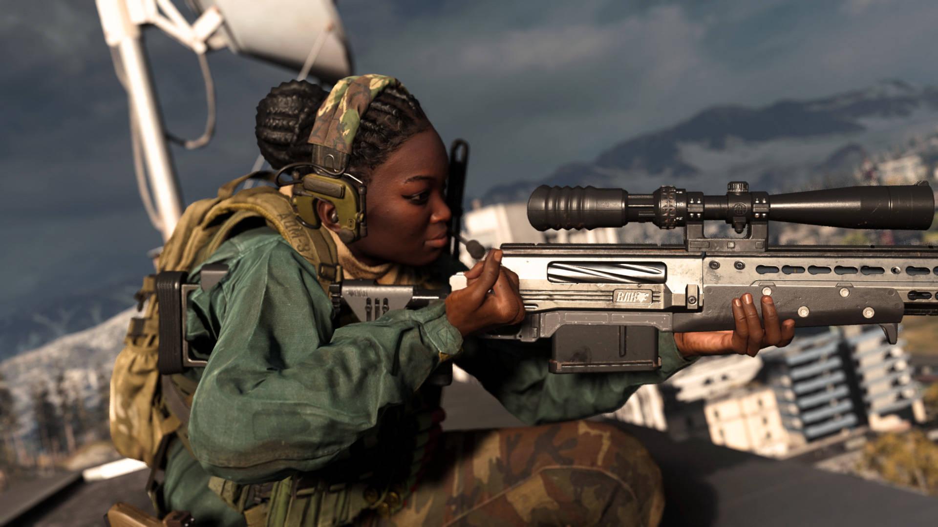 AX-50 - Le meilleur fusil de sniper de Warzone
