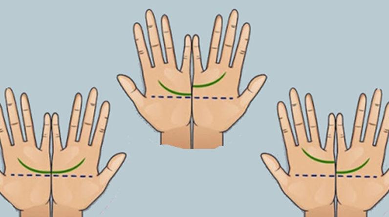 Si ces 2 lignes sur vos mains se rejoignent
