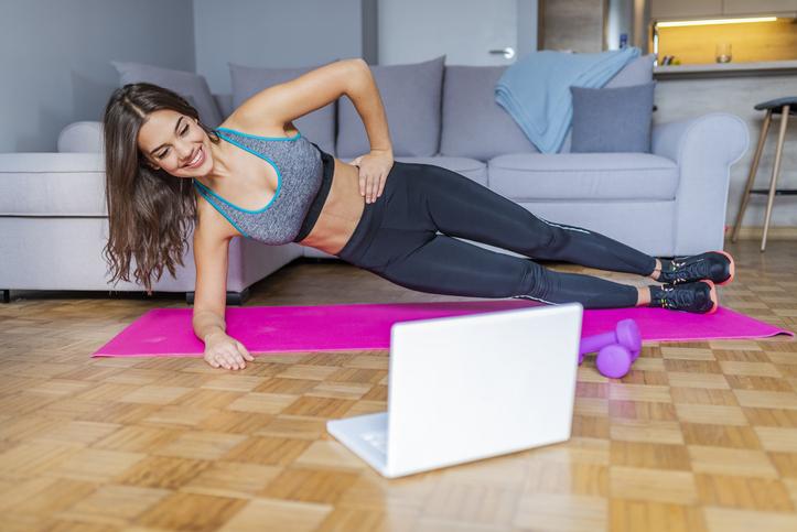Fitness à domicile, les applications pour rester en forme tout en restant à la maison