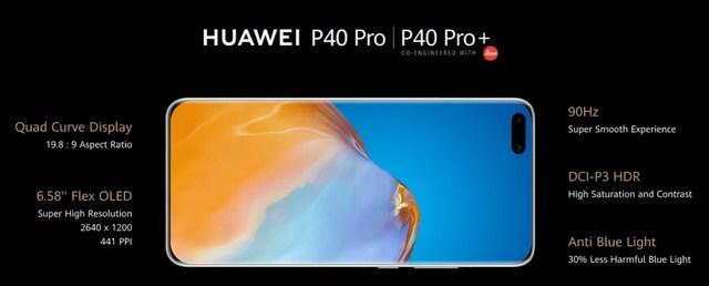 Huawei présente officiellement les smartphones P40, P40 Pro et P40 Pro Plus