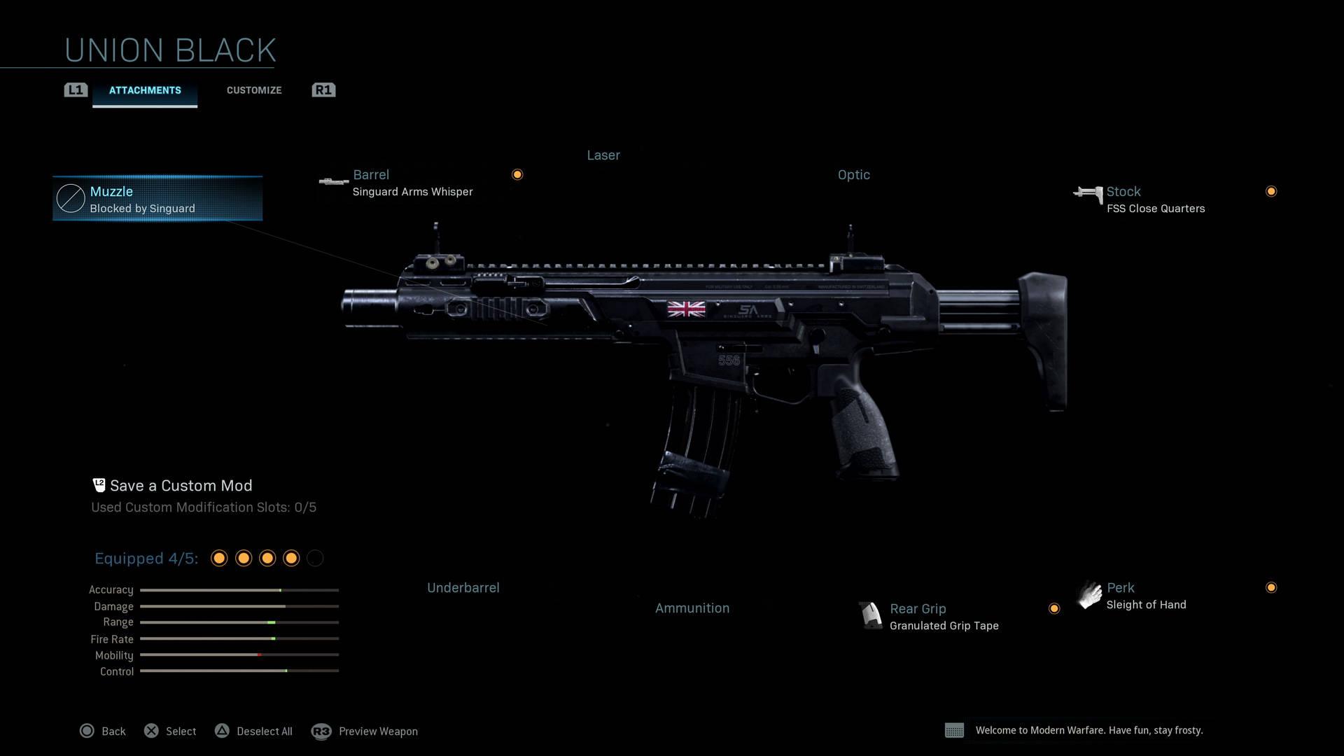M4A1 - Le meilleur fusil d'assaut de Warzone
