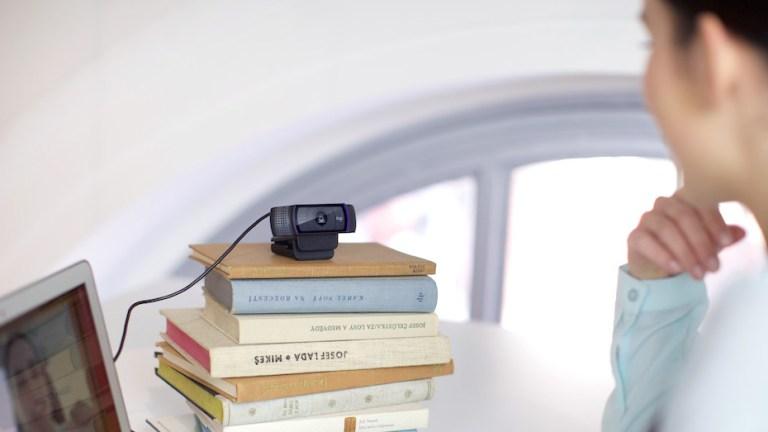 Obtenez votre webcam ou votre ordinateur portable au bon angle.
