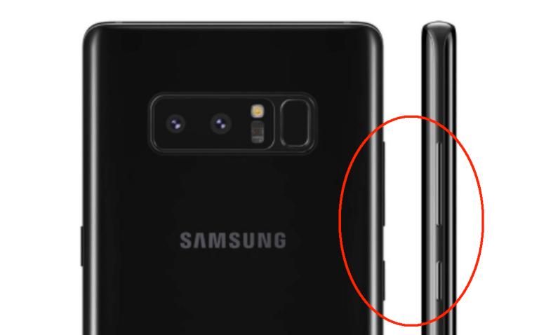 Réinitialiser un Galaxy Note 8