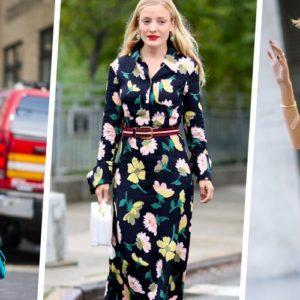 Tendances printemps-été 2020 Vêtements avec motif Fleurs