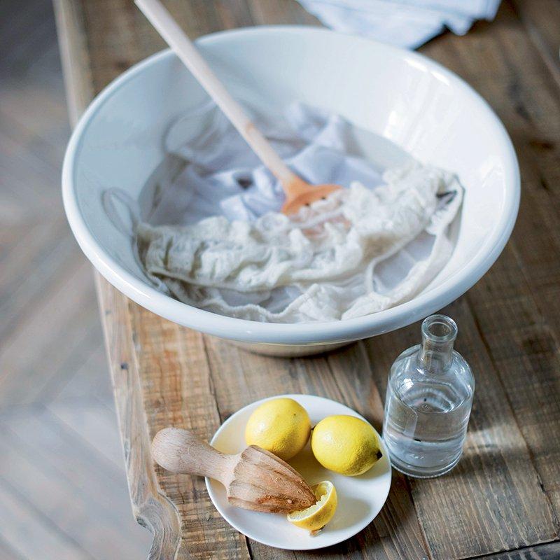 citron  pour blanchir vos vettements