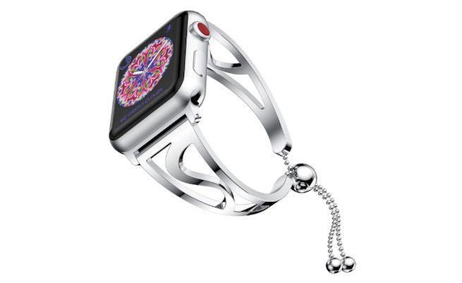 bracelet pour Apple Watch 40 mm / 44 mm en acier inoxydable NotoCity