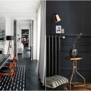 Comment utiliser le noir et le gris en décoration d'intérieur ?