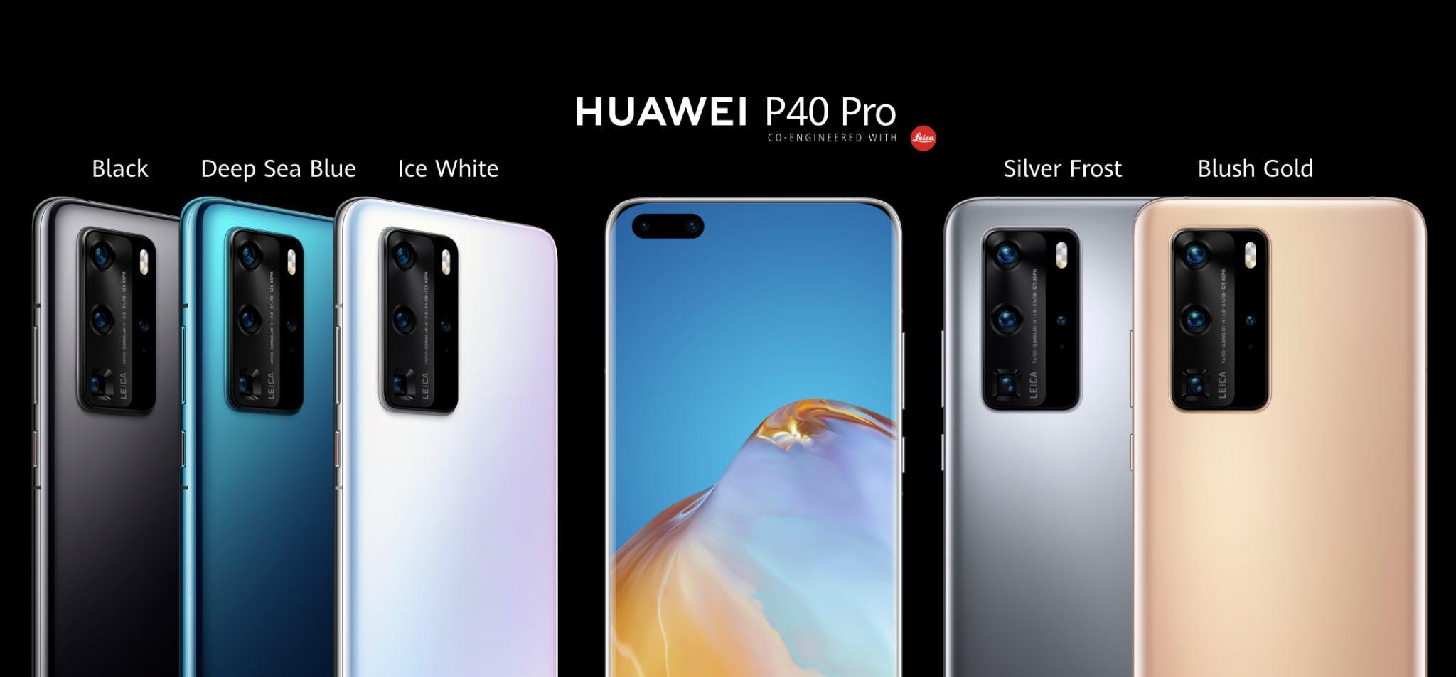 quelles sont les différences entre Huawei P40, Huawei P40 Pro et P40 Pro +