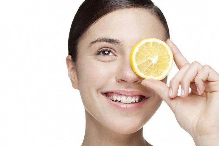 soins de la peau avec du citron