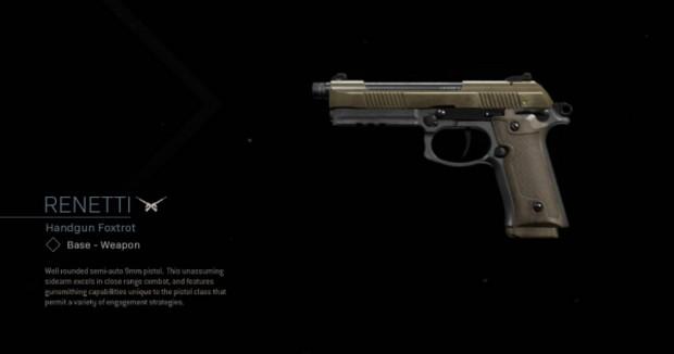 Renetti: le meilleur pistolet Akimbo de Warzone