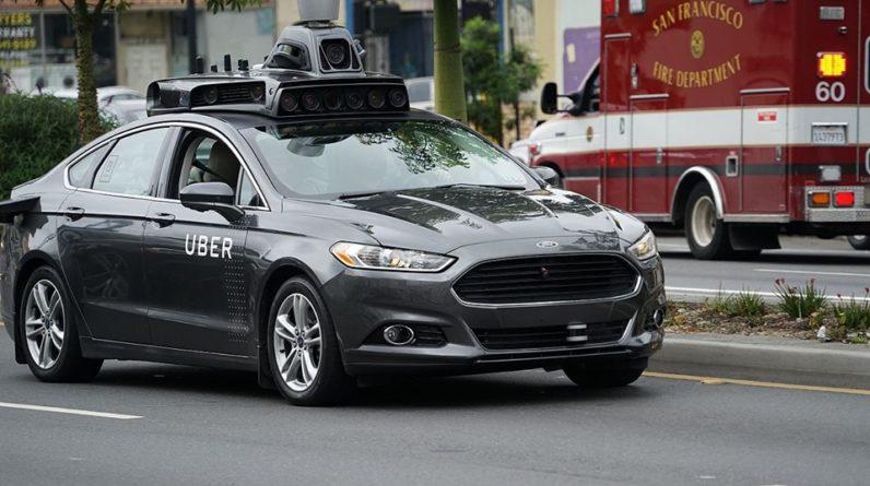 Uber pour ses déplacements à Nice