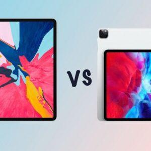 Pocket-lint Apple iPad Pro (2020) vs Apple iPad Pro (2018)
