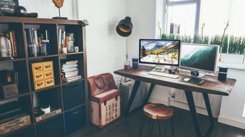 comment organiser le coin bureau à la maison