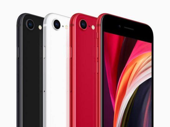 IPhone SE 2020 officiel