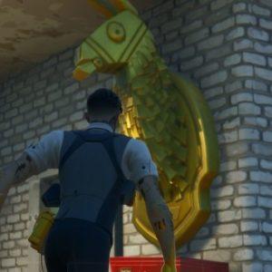 Où trouver la lame dorée de Midas à Fortnite