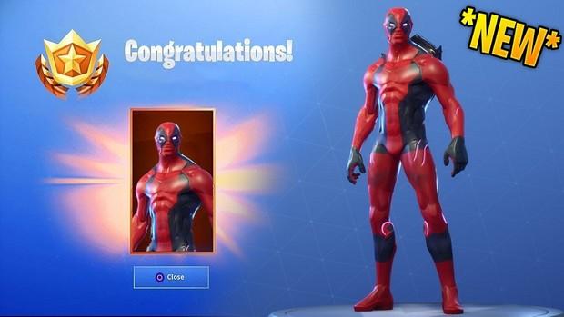 Comment obtenir le skin Deadpool dans Fortnite