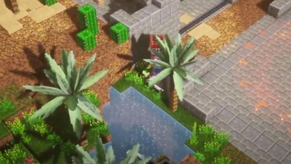emplacement Canyon des cactus