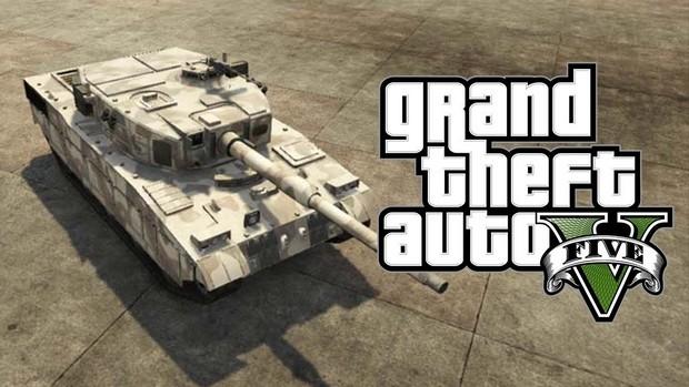 GTA 5: Comment voler un tank