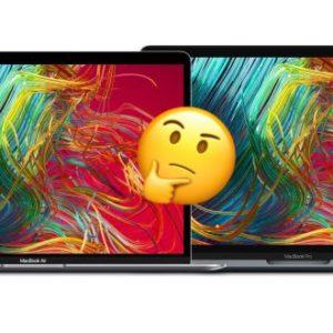 MacBook Air vs MacBook Pro 13 : lequel acheter en 2020 ?