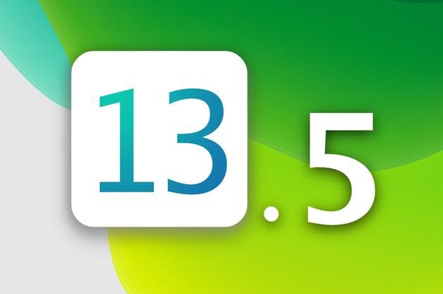 iOS 13,5
