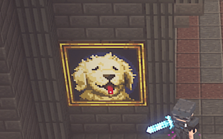 Consulter la peinture de chien
