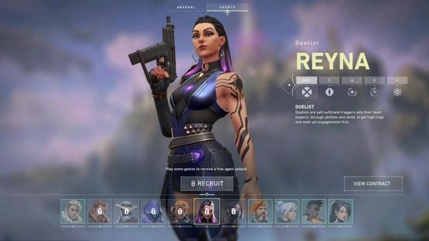 Agent Reyna