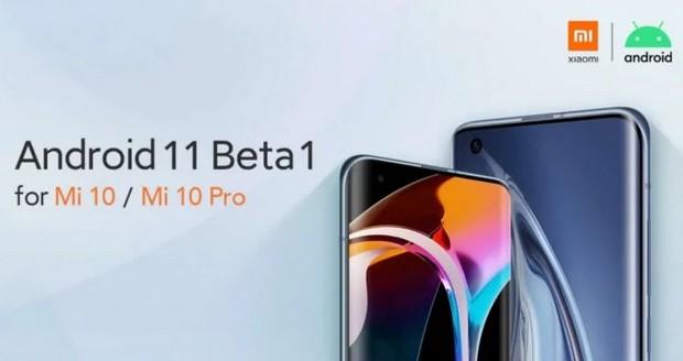 Xiaomi Mi 10 et Mi 10 Pro: Android 11 Beta disponible