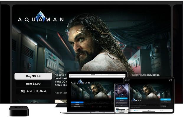 comment acheter ou louer des films sur Apple TV