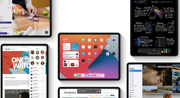 Les iPad compatibles avec iPadOS 14