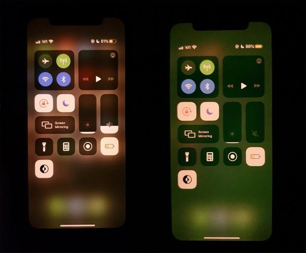 bug ecran vert iphone 11 sur les modèles OLED et LCD.