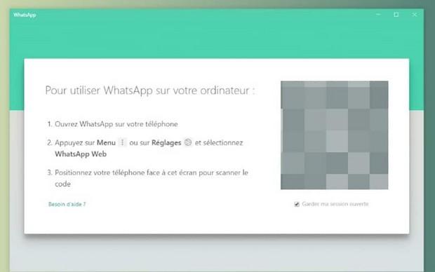 Comment utiliser WhatsApp sur windows
