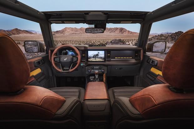 Ford Bronco 2021: l'intérieur