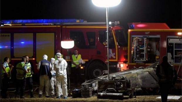 L'accident s'est produit lundi sur l'autoroute A7 dans le sud-ouest de la France
