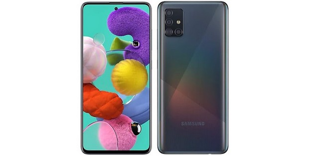 La fiche technique du Galaxy A51 5G