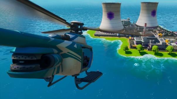 Atterrissez sur Choppa au fond d'un réacteur à Steamy Stacks, défis de la semaine 3 de Fortnite