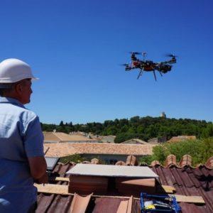 Drone pour couvreurs
