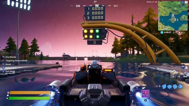 Comment faire un tour au Motorboat Mayhem dans Fortnite ?